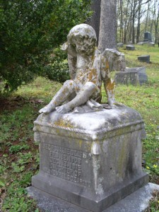 Monument at Forest Hills Cemetery - Chattanooga, Tennessee