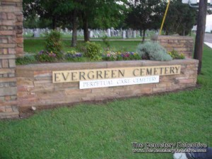 Evergreen Cemetery - Paris Texas